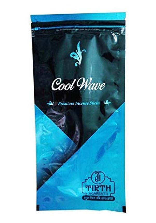 運動する正しく盗難TIRTH Cool Wave Premium Incense Stick/Agarbatti (170 GM Pack) Pack of 2