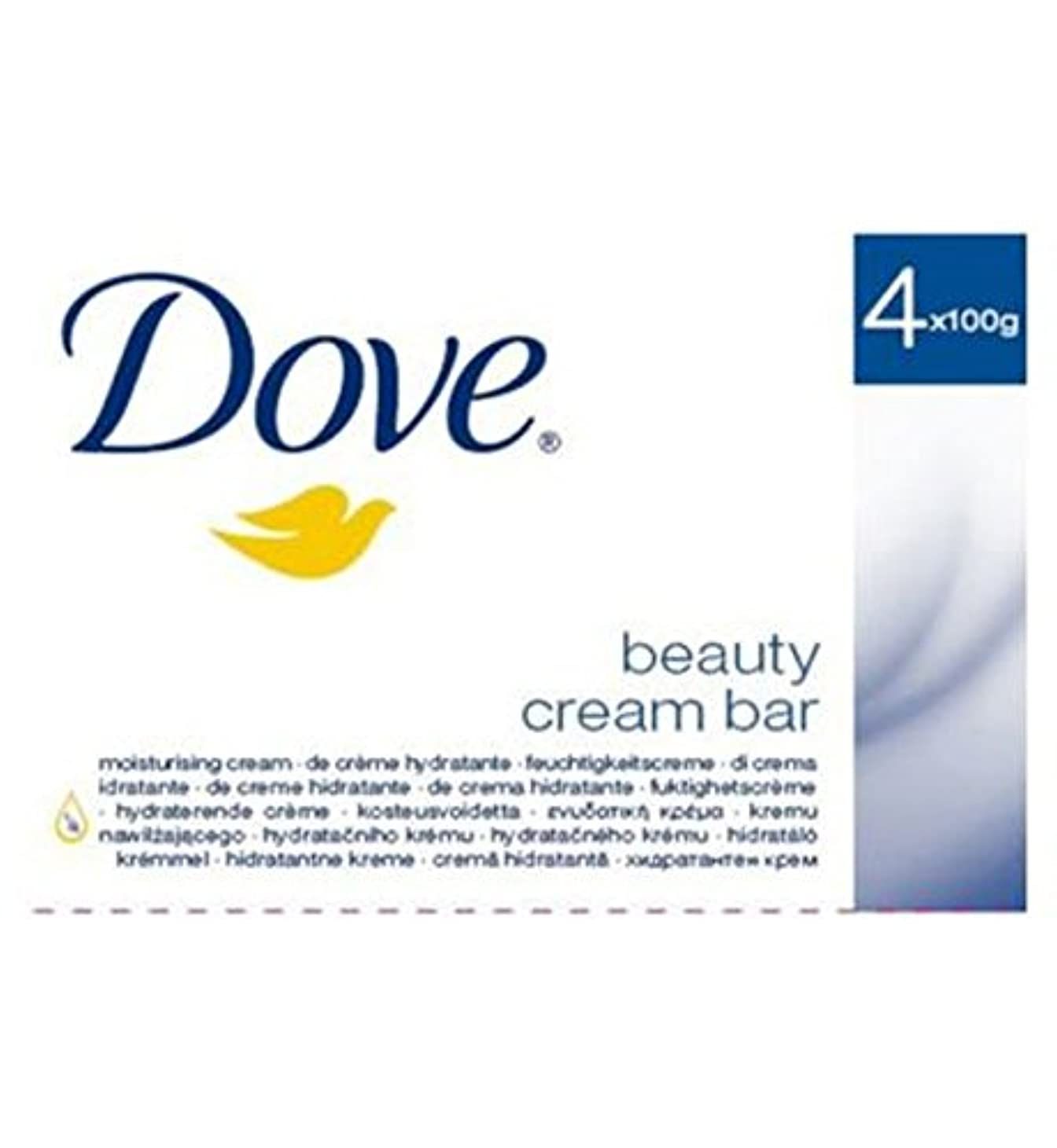 ねじれまたはどちらかベットDove Original Beauty Cream Bar 4 x 100g - 鳩元の美しさのクリームバー4のX 100グラム (Dove) [並行輸入品]