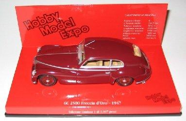 1/43scale ミニチャンプス MINICHAMPS Alfa Romeo 6C 2500 Freccia d'Oro 1947 アルファ ロメオ
