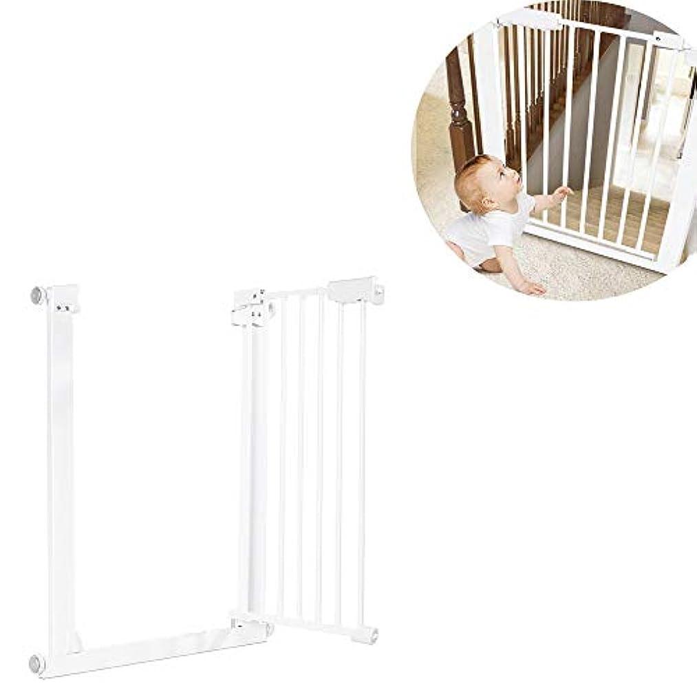 基準まどろみのあるストレスの多い調整可能な赤ちゃんの安全ドアゲート、29.5-32.2インチのペットの犬の猫のフェンス、階段のドアの金属の子供たちの安全保護のための高強度鉄のゲート