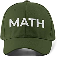 Yang2020 Andrew 'Math' Weed Marijuana Hat Cap for Unisex Men & Women 100% Cotton - Green