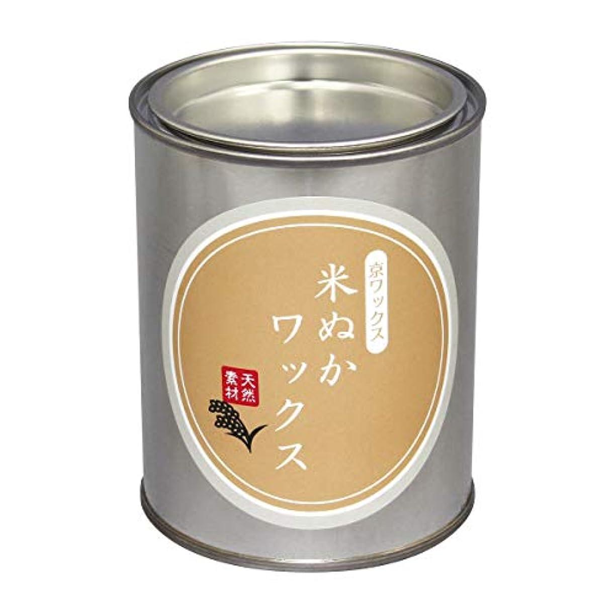 オーク神ウェブ杉材用ワックス 手作り 米ぬかワックス 300g 針葉樹の無垢材対応