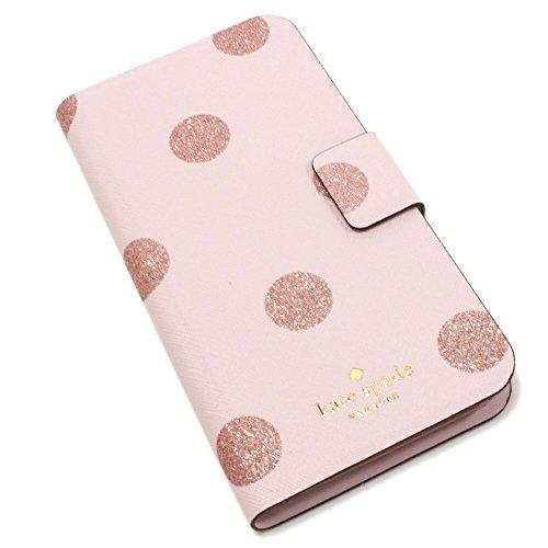 ケイトスペード iPhone7 Plus スマホケース レディース kate spade Wallet スマートフォンケース plmdwn/dot WIRU0643 656 [並行輸入品]