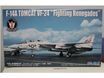 フジミ模型 1/72 I-15 F-14A VF-24 空母コンステレーション ファイティングレネゲイズ