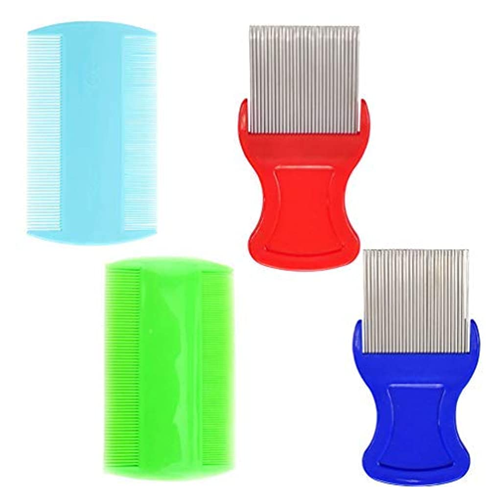 翻訳特定の害虫Hair Comb,Fine Tooth Comb,Removing Dandruff Flakes [並行輸入品]