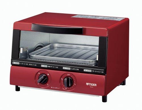 RoomClip商品情報 - タイガー オーブン トースター レッド やきたて KAJ-A100-R Tiger