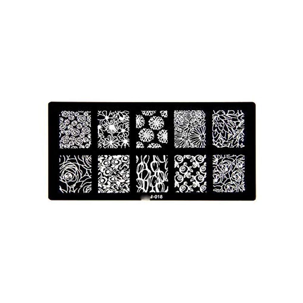 交流する生産性裁判所1ピース6 * 12センチbcnシリーズネイルスタンピングプレート画像ネイルステンシル用ネイルアートスタンプマニキュアテンプレートツール,BCN018