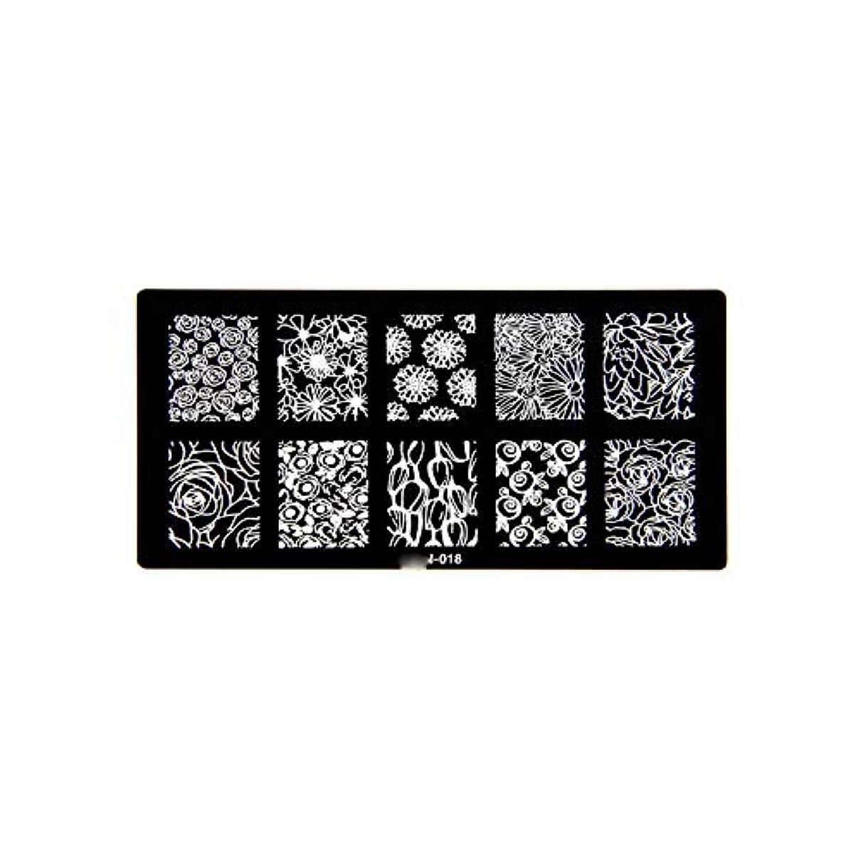 ポケットする四回1ピース6 * 12センチbcnシリーズネイルスタンピングプレート画像ネイルステンシル用ネイルアートスタンプマニキュアテンプレートツール,BCN018