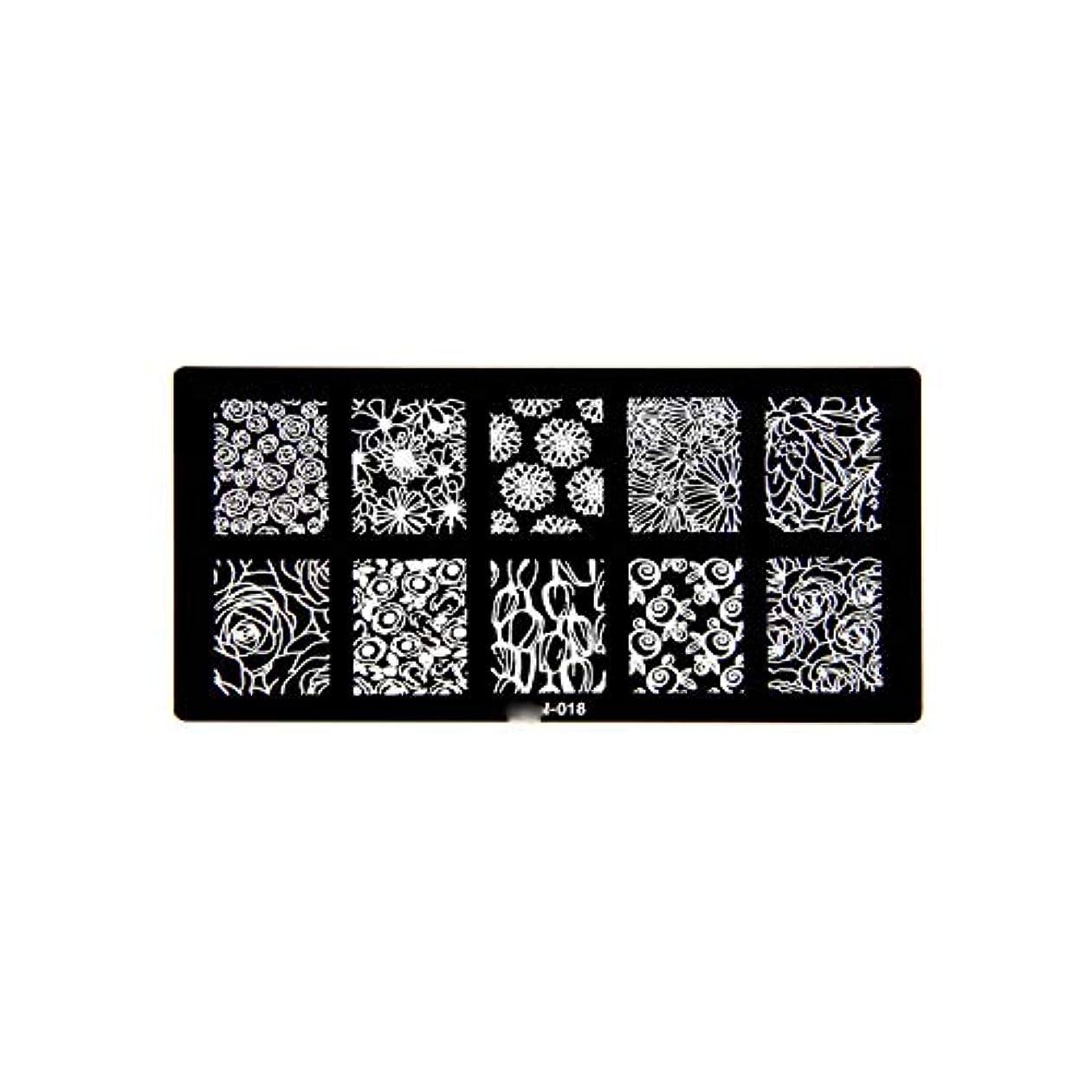 誰でも祈りビーズ1ピース6 * 12センチbcnシリーズネイルスタンピングプレート画像ネイルステンシル用ネイルアートスタンプマニキュアテンプレートツール,BCN018