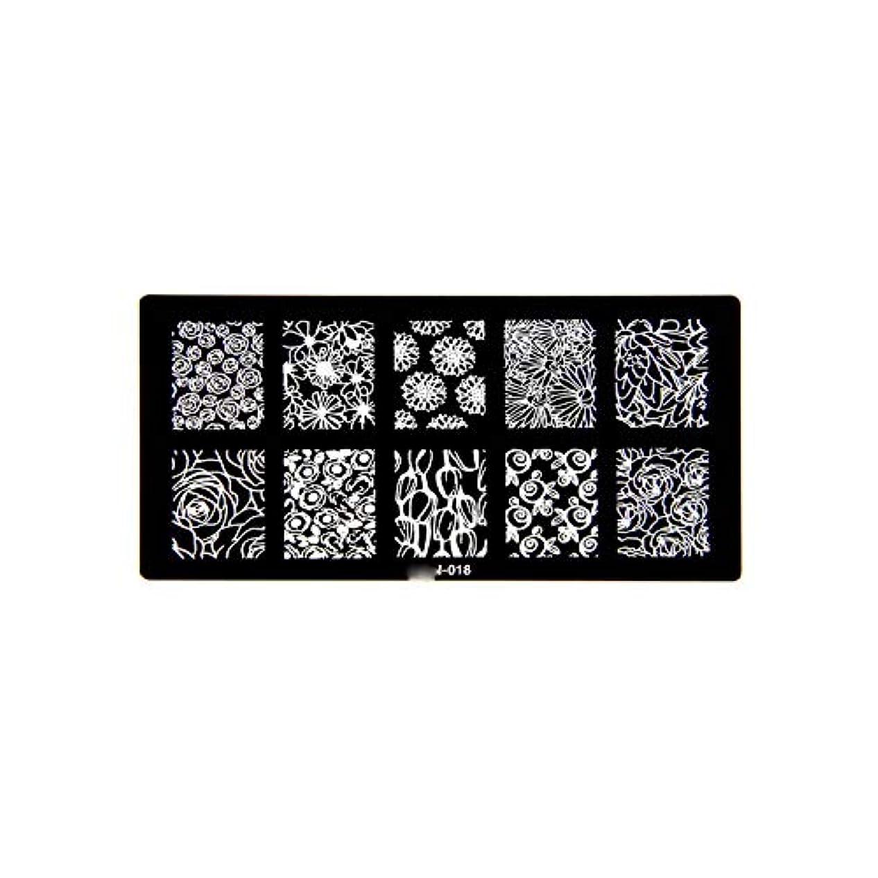 堂々たる少ない難民1ピース6 * 12センチbcnシリーズネイルスタンピングプレート画像ネイルステンシル用ネイルアートスタンプマニキュアテンプレートツール,BCN018