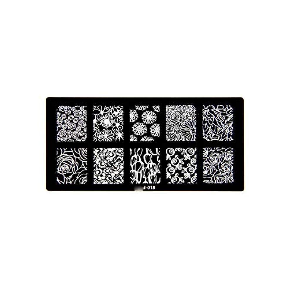 くつろぐ疲れたレオナルドダ1ピース6 * 12センチbcnシリーズネイルスタンピングプレート画像ネイルステンシル用ネイルアートスタンプマニキュアテンプレートツール,BCN018