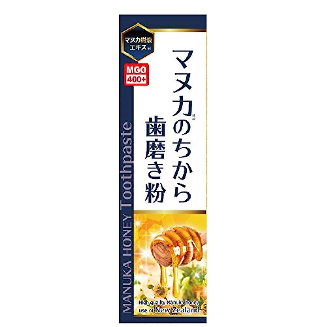 航海上流の弱点マヌカのちから歯磨き粉 ハチミツレモン味 100g