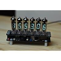 蛍光表示管モジュラー時計 IV-6(ケース付き、時計ハンダ付けキット)
