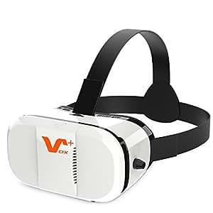 VOX PLUS 3DVR ゴーグル ヘッドマウント用 ヘッドバンド付き ホワイト