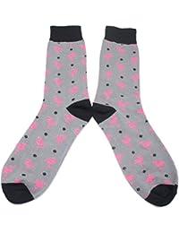 靴下 ピンクフラミンゴのメンズソックス