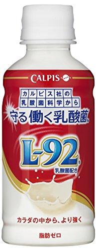 カルピス 守る働く乳酸菌 L-92乳酸菌配合 200ml(24本入×4ケース)96本