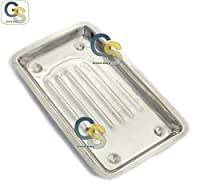 G.S SCALER TRAY 7.5''(19CM)X4''(10CM)X0.5''(1.5CM) by G.S SURGICAL