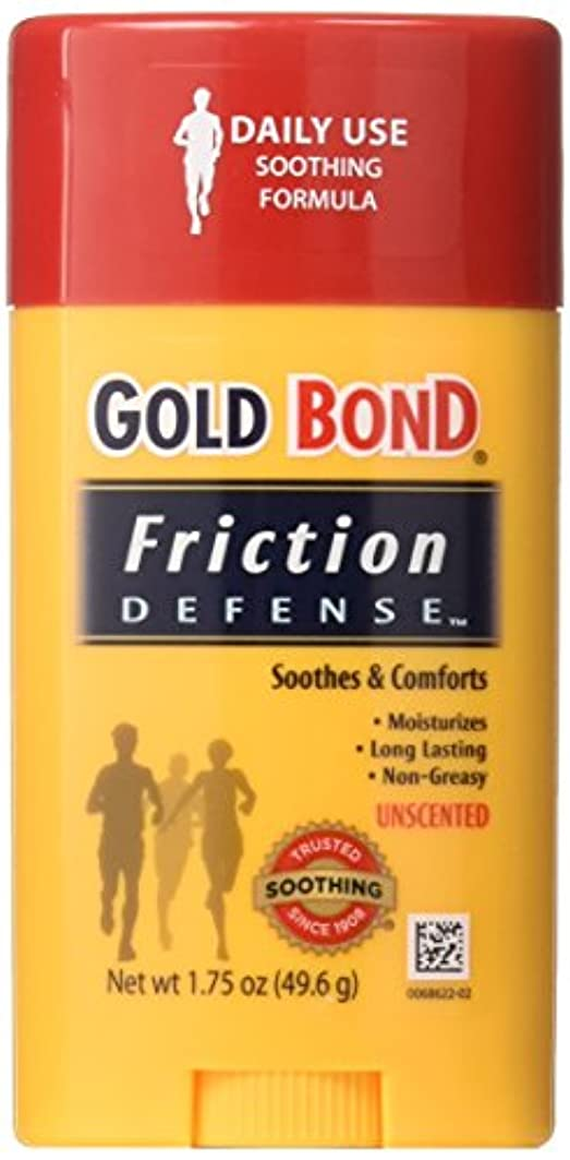 岩ほこりっぽい勝利Gold Bond 摩擦防衛スティック無香料1.75オンス(2パック) 1.75オンス(2パック)