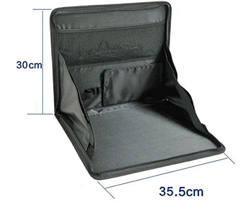 軽量 折り畳み式 ノートパソコンテーブル 車載用 パソコン台...