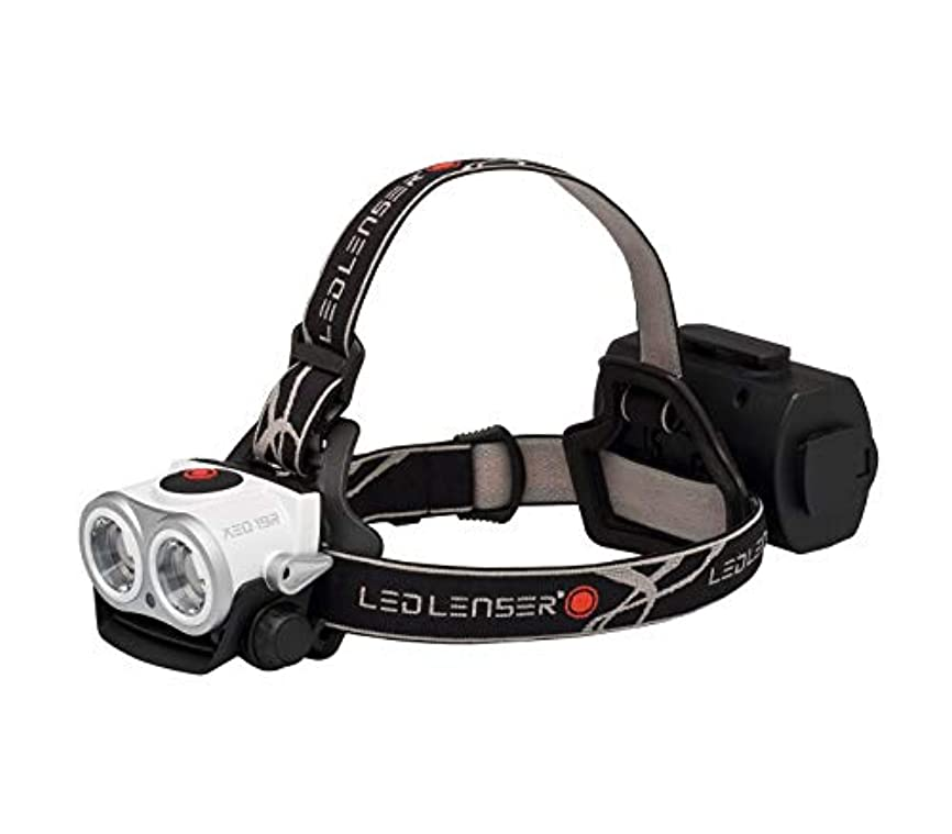収まるラベル実際にLedlenser(レッドレンザー) LEDヘッドライト XEO19R 強力ライト 【明るさ約2000ルーメン】 【最長7年保証】 充電式/防水等級:IPX6 [日本正規品]