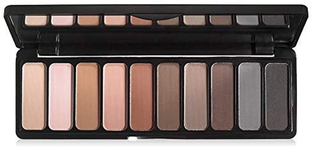 ケニア広々とした水曜日e.l.f. Studio Mad for Matte Eyeshadow Palette 10 Shades (並行輸入品) -4 Packs
