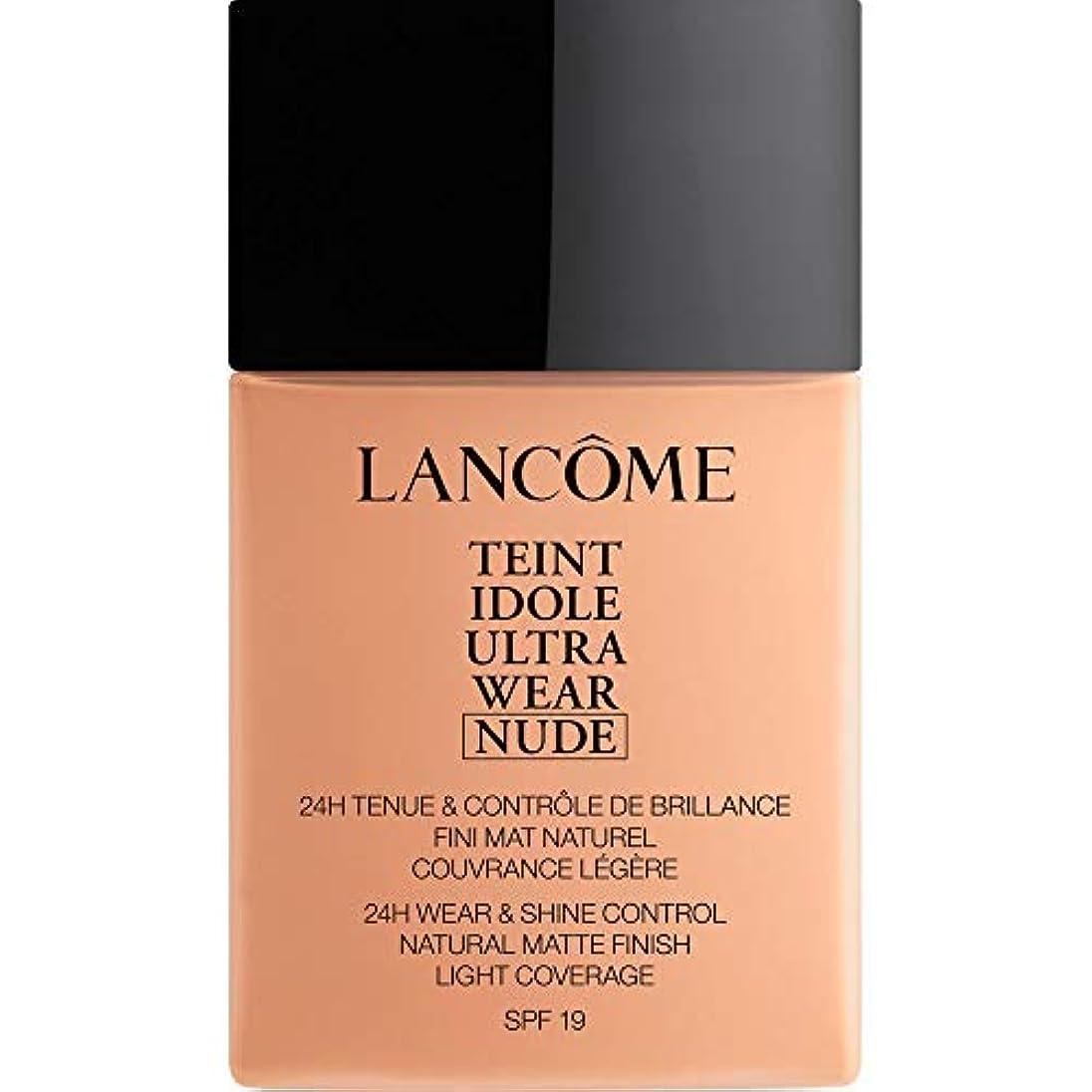シャベル献身はねかける[Lanc?me ] ランコムTeintのIdole超摩耗ヌード財団Spf19の40ミリリットル038 - ベージュCuivre - Lancome Teint Idole Ultra Wear Nude Foundation...