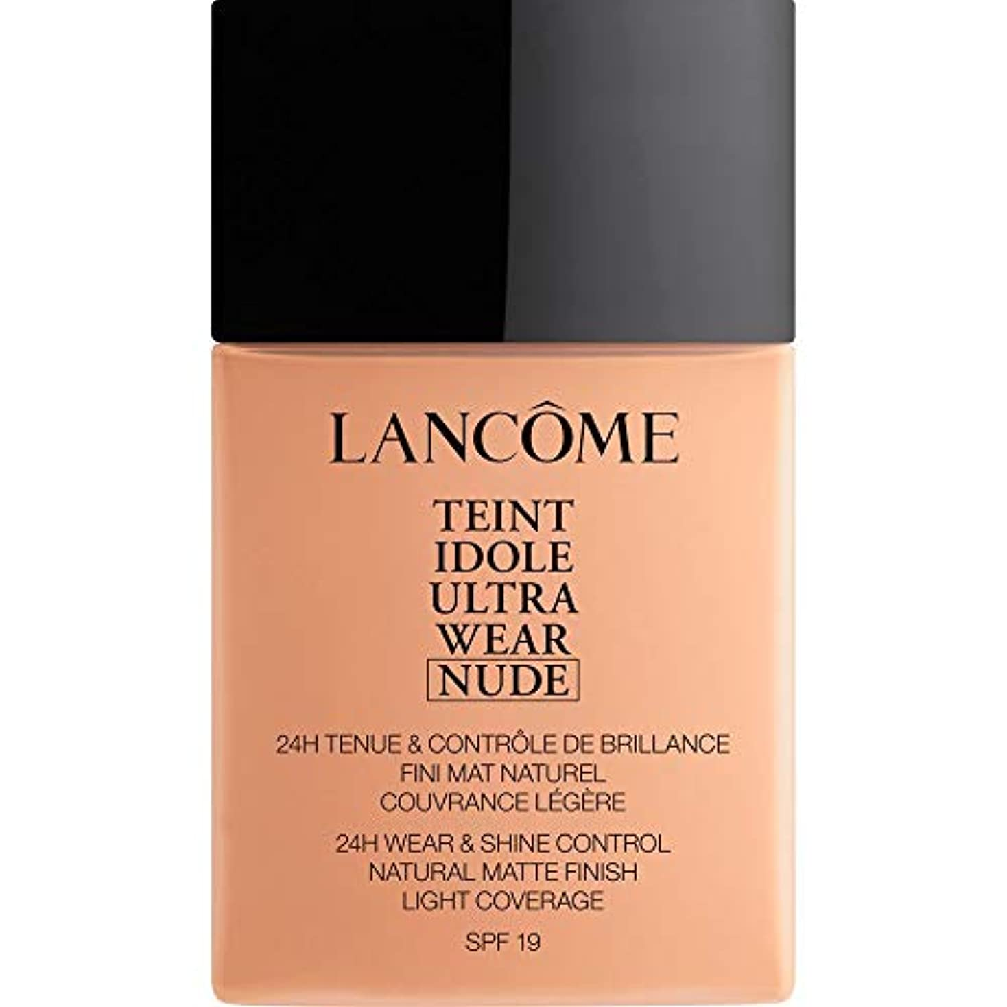 流体偉業動脈[Lanc?me ] ランコムTeintのIdole超摩耗ヌード財団Spf19の40ミリリットル038 - ベージュCuivre - Lancome Teint Idole Ultra Wear Nude Foundation...