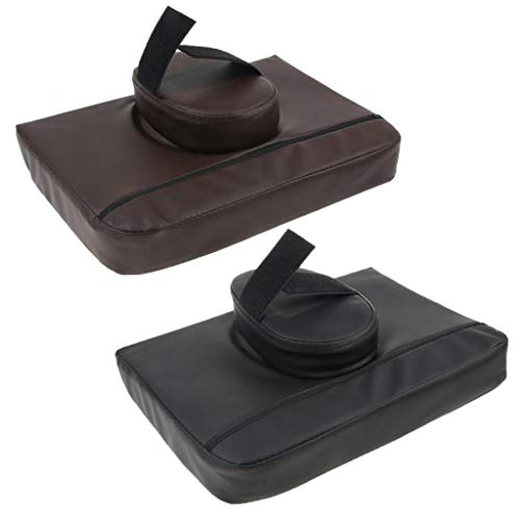 繊維リレーメロディー2本PUマッサージテーブルフェイスクレードルピロークッションスパサロンヘッドレストパッド