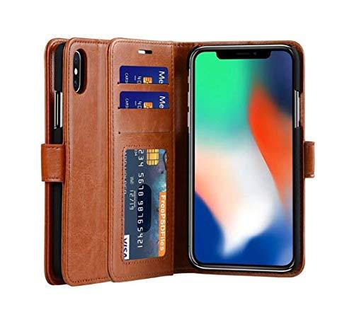 iphoneXS/iphoneX ケース 手帳型 財布型 高...