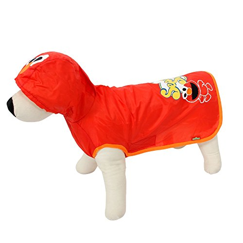 Pets Clothes PAWZ ROADドッグレインコートデザイン3色&4サイズの防水 ( Color : Red , Size : L )