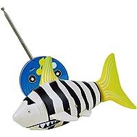 inverlee RCバッテリーPowered速度ラジオコントロールおもちゃ2.4 V 3 chプラスチックモデル魚Great Xmasギフトfor Children マルチカラー IN
