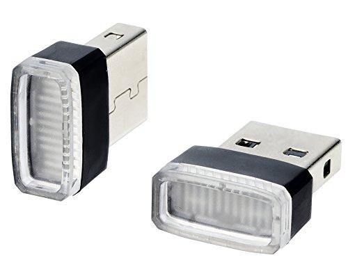 星光産業 イルミライト 車用 USBイルミカバー ブルーLE...