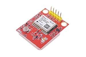 cocopar®Raspberry Pi GPS ラズベリーパイGPSモジュール U-BLOX NEO-6Mモジュール付き 25mmX25mm セラミックパッシブアンテナ付き 信号が強い