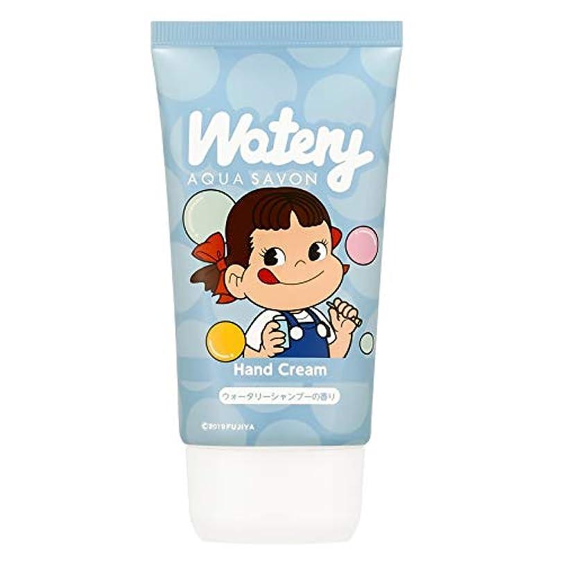 蘇生するやさしいすり減る不二家 ハンドクリーム ウォータリーシャンプーの香り 50g