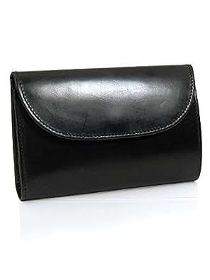 (ホワイトハウスコックス) Whitehouse Cox 三つ折り財布(小銭入れ付) ブラック THREE FOLD PURSE S7660/SR1112 BLACK [並行輸入品]