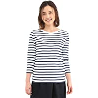 Demi-Luxe BEAMS Tシャツ カットソー 7分袖 Le minor (ルミノア) Mademouselle ボーダー カットソー レディース