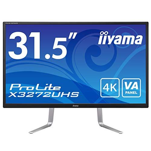 4K モニター ディスプレイ X3272UHS-B1 (31.5インチ VA非光沢 DisplayPort,HDMIx2/3年保証)