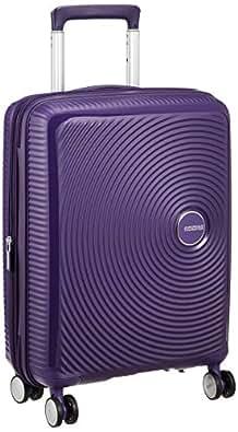 [アメリカンツーリスター] スーツケース キャリーケースサウンドボックス スピナー55 機内持ち込み可 保証付 35L 55 cm 2.6kg パープル
