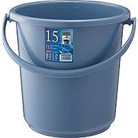 リス『使い易いバケツ』 ベルクバケツ 15SB 本体 ブルー