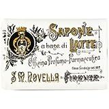 【Santa Maria Novella(サンタマリアノヴェッラ )】ミルクソープ ガーデニア 100g Milk Soap