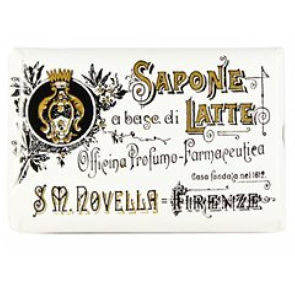 郵便物居眠りする放置【Santa Maria Novella(サンタマリアノヴェッラ )】ミルクソープ ガーデニア 100g Milk Soap