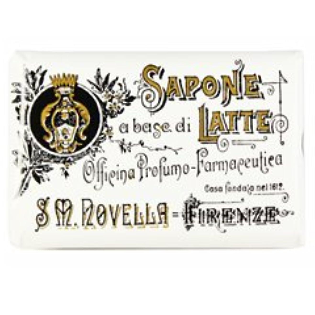 質素な貫通する程度【Santa Maria Novella(サンタマリアノヴェッラ )】ミルクソープ ガーデニア 100g Milk Soap