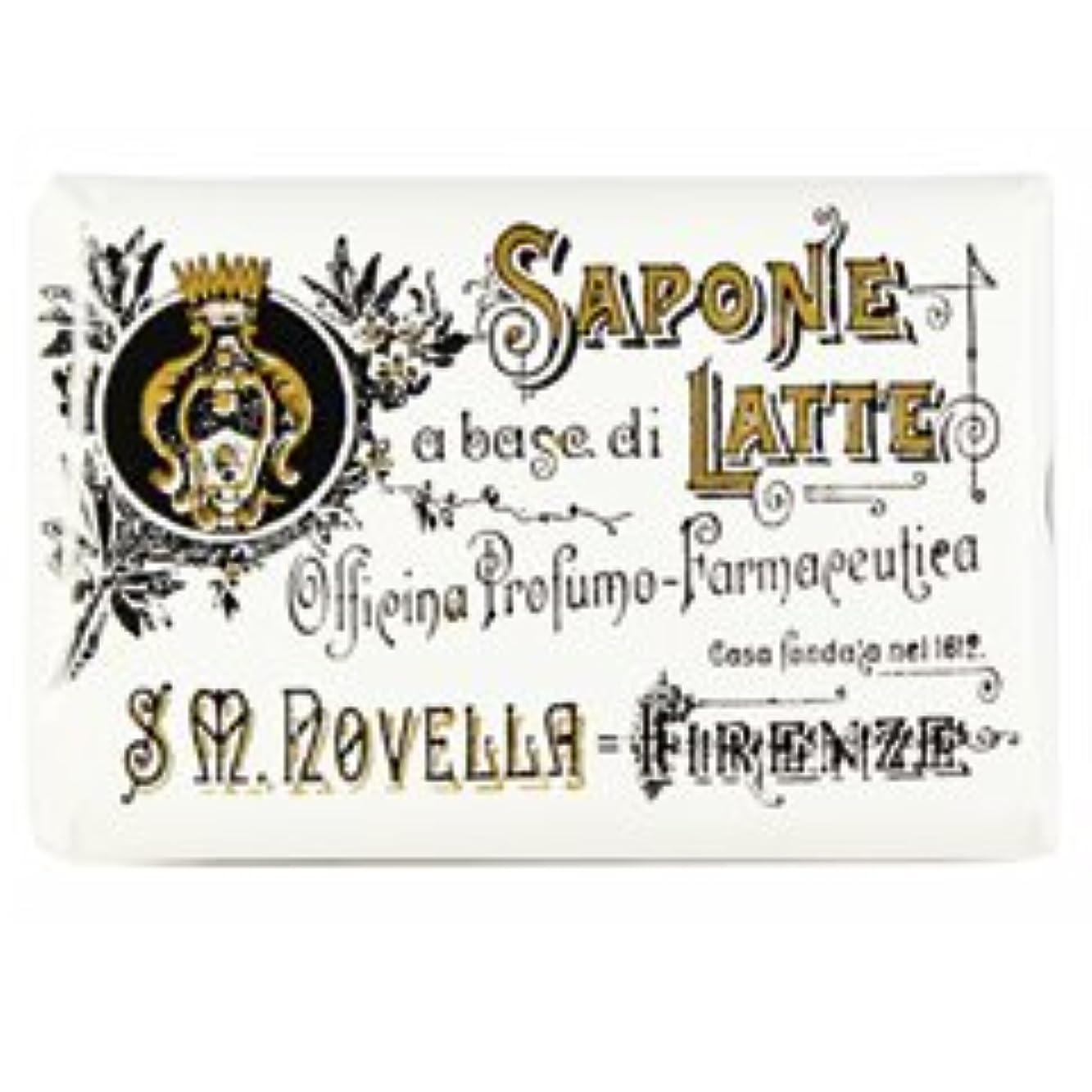 入り口コードレス区別【Santa Maria Novella(サンタマリアノヴェッラ )】ミルクソープ ガーデニア 100g Milk Soap