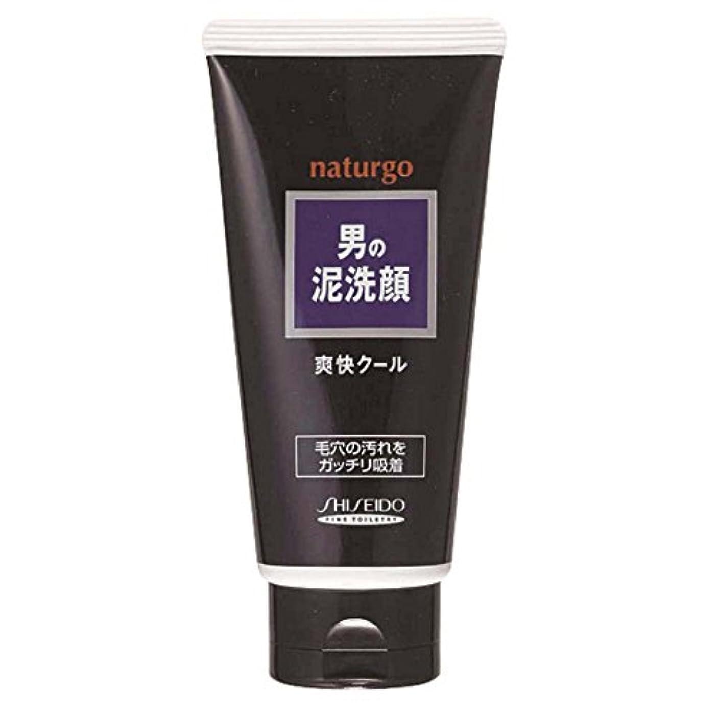 植物のヘクタールクリエイティブナチュルゴ メンズクレイ洗顔フォーム黒 130g
