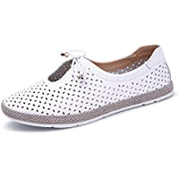 Beha Erichsen Women's Ballet Flats Slip On Soft Leather Knot Loafers Shoes