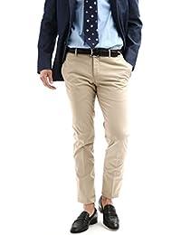 【返品・交換不可】PT01 (ピーティーゼロウーノ) BUSINESS (ビジネス) SUPER SLIM FIT (スーパースリムフィット) Lux Cloth ストレッチ コットン スラックス パンツ BEIGE (ベージュ・0040)