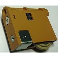Panasonic パナソニック 調整機能付きY戸車 内装引戸用 ライトブラウン MJB907N 2個