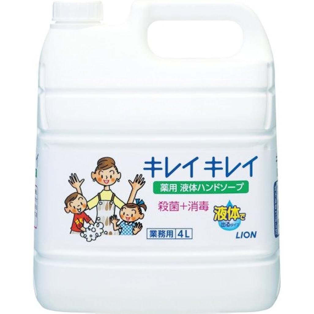ツール水っぽいゴミ箱を空にするライオンキレイキレイハンドソープ4L BPGHY4