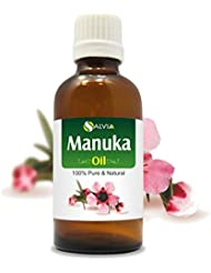 Manuka Oil (Leptospermum scoparium) 100% Natural Pure Undiluted Uncut Essential Oil 100ml