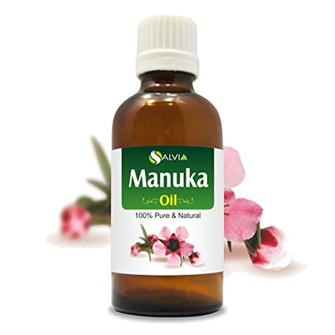 マージレオナルドダ影響Manuka Oil (Leptospermum scoparium) 100% Natural Pure Undiluted Uncut Essential Oil 50ml